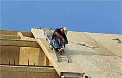 Строительство крыш. Дома каркасные деревянные