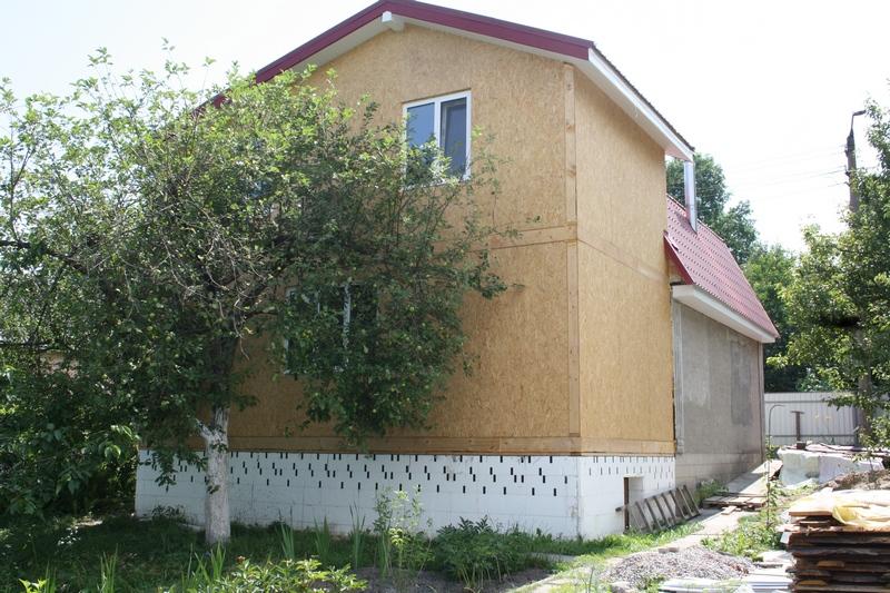 Дома панельные деревянные. Дом из СИП панелей.