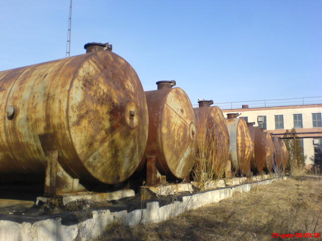 Buy Reservoirs, tanks, new and second-hand 5, 10, 25, 50, 75 and 100 m 3