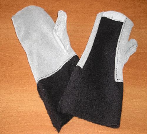 Купить Вачеги для металлургов - максимальная защита рук от термических ожогов, искр и брызг расплавленного металла