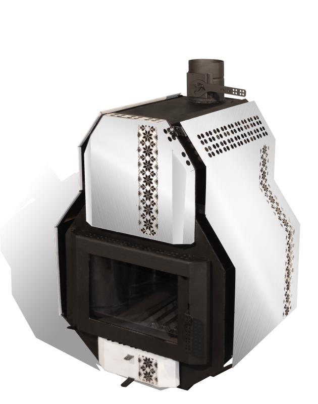Buy The furnace heating and cooking SVAROG-M, Svarog-M type 03, the power of 32 kW, on 700 m3