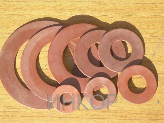 Прокладки биконитовые (паронитовые) Ду20 Ду300