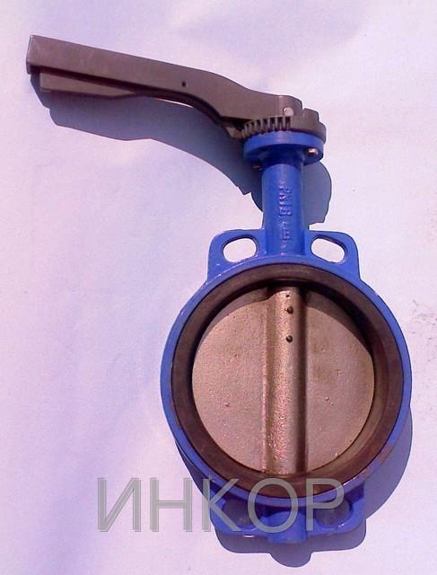Затвор дисковый поворотный материал уплотнения — EPDM типа баттерфляй Ду50 Ду80 Ду100 Ду150 Ру16