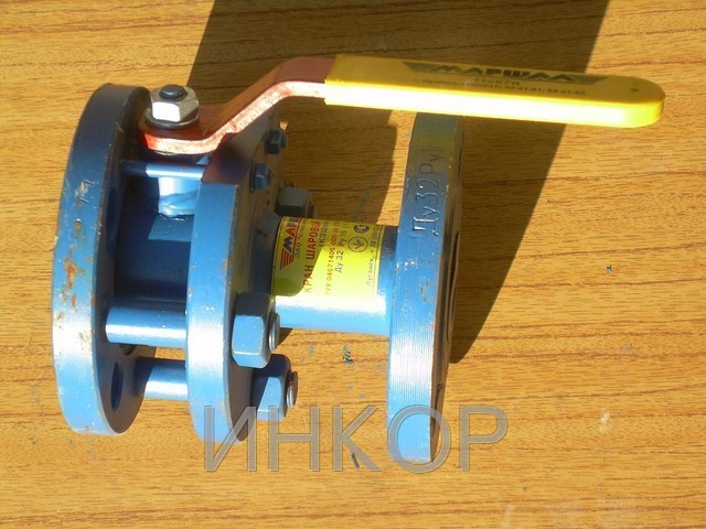 Кран шаровый стальной фланцевый КЗШс КШЛФс Ду50 Ду65 Ду80 Ду100