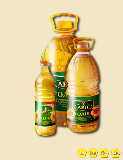 Органическое подсолнечное масло (линолевое и высокоолеиновое)