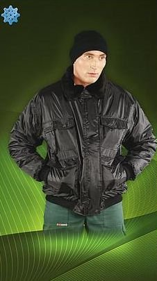 Buy Jacket the warmed Bomber, a jacket of the security guard 02385