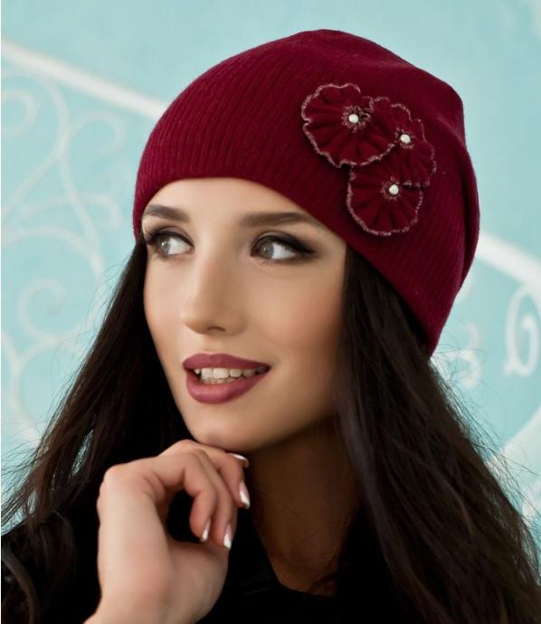 Зимова жіноча шапка «Венеція» оптом від виробника купити в Хмельницький 0964381220f40