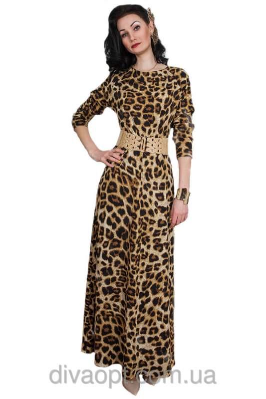 Леопардовое платье по украине