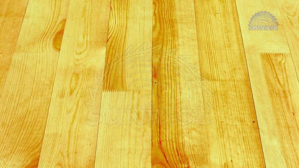 Половые доски сосновые   Длина в размер комнат