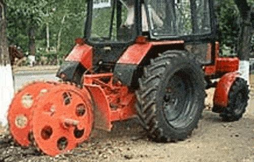 Купить Асфальторезные машины на базе тракторов МТЗ-80, МТЗ-82