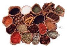Специи оптом от производителя Китай, Польша, Египет в ассортименте: кориандр, куркума, чабер, анис, корица, орегано, тимьян, гвоздика и др.