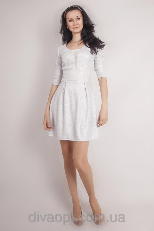 Вечірнє плаття біле Модель 032-1 купити в Хмельницький 301f37bf06fd5
