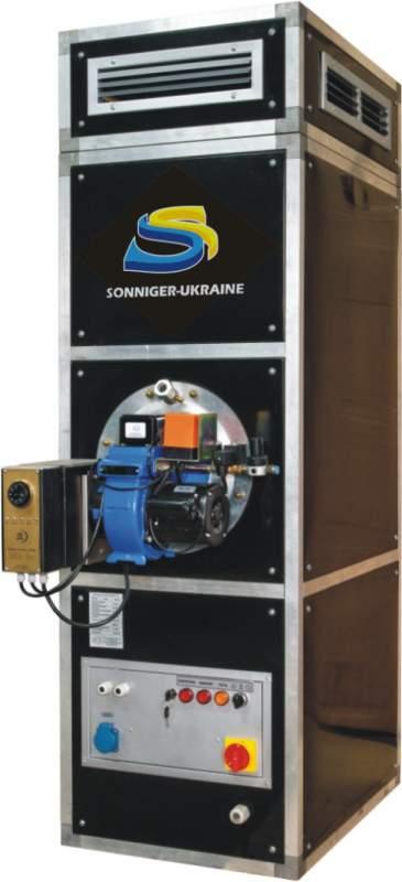 Купить Воздушные теплогенераторы производительной мощностью 25-1100 кВт. Виды топлива: мазут, печное топливо, дизель, керосин, отработанное масло, и т. д