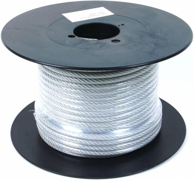 Купити Трос в оболонці,оплетке ПВХ діаметр 4мм