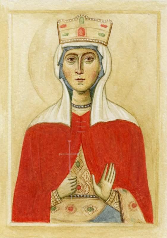 Купить Икона святой Людмилы
