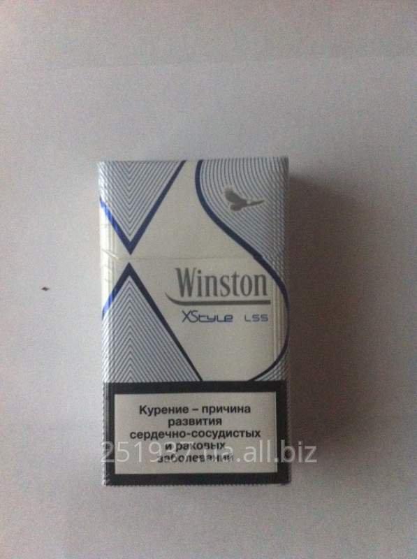 Сигареты с фильтром Winston XStyle Blue