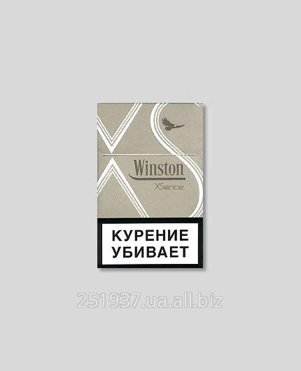 Сигареты с фильтром Winston XSence Silver
