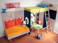 Картинка 1 - Детская мебель волна к-7.