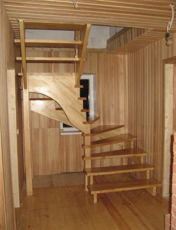 Escalier Maison Bois 3 Marches Exterieur Coulommiers 77