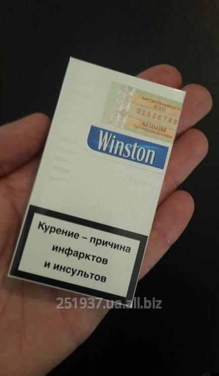 Сигареты Winston Superslims Blue с фильтром