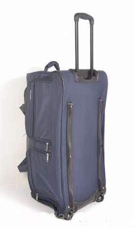 fe1f16ec95fe Дорожная сумка чемодан большая туристическая на колесах LYS France ...