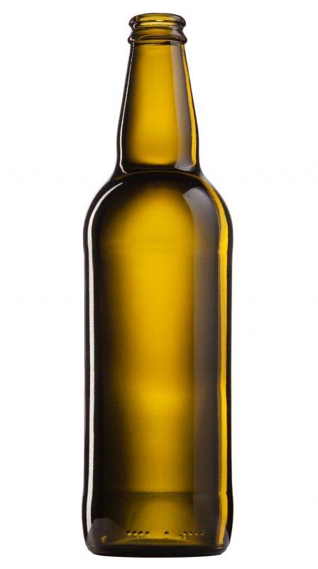 Бутылка для пива коричневая