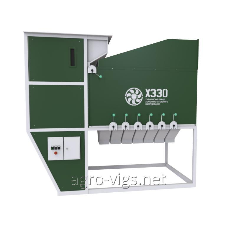 ISM-40 grain separator, seed cleaning and calibration