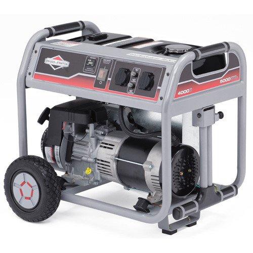 Однофазный бензиновый генератор BRIGGS &amp- STRATTON ELITE 6250A (6,2 кВт)