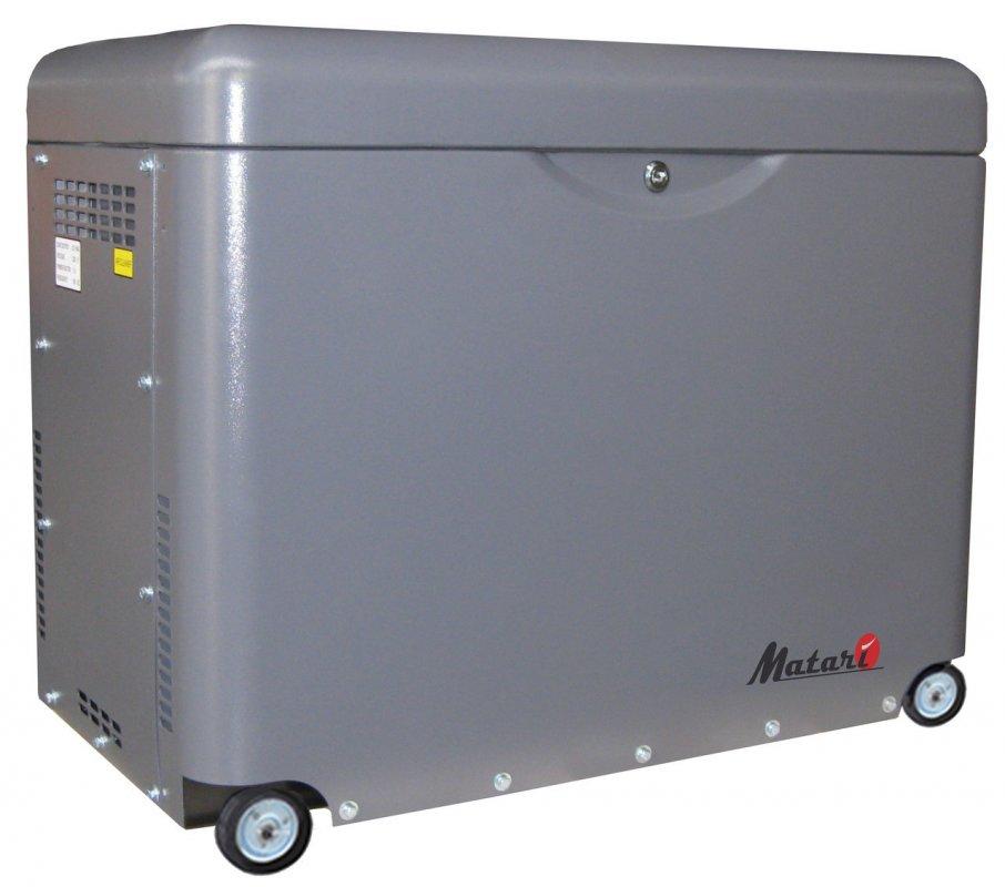 Однофазный дизельный генератор Matari MDA7500SE (Автозапуск) (5 кВт)