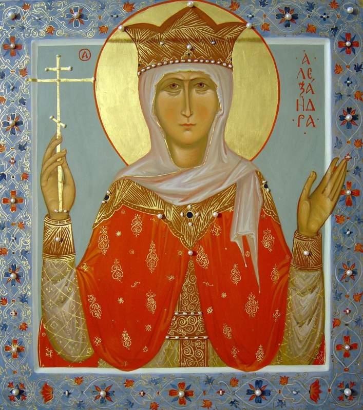 Купить Икона царицы Александры Киев