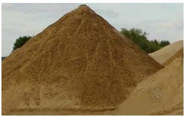 Купить Сыпучие стройматериалы, песок речной