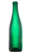Бутылка стеклянная для шампанского