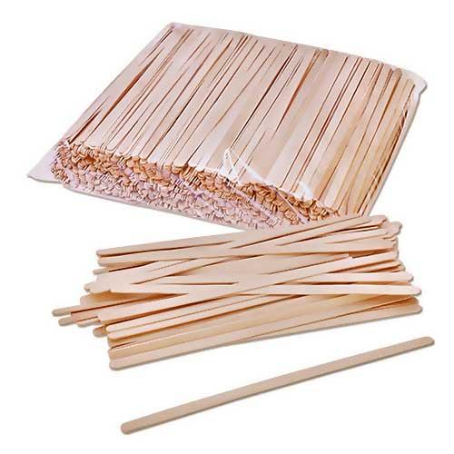 Мешалки размешиватели деревянные 140 мм х 800 шт
