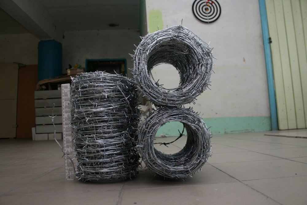 Buy The bibasic barbed wire (strengthened) d 2,2 mm of TU U 271-136-001-2002