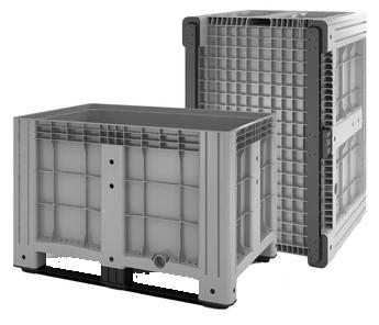 Контейнер складской пластиковый цельнолитой IBox