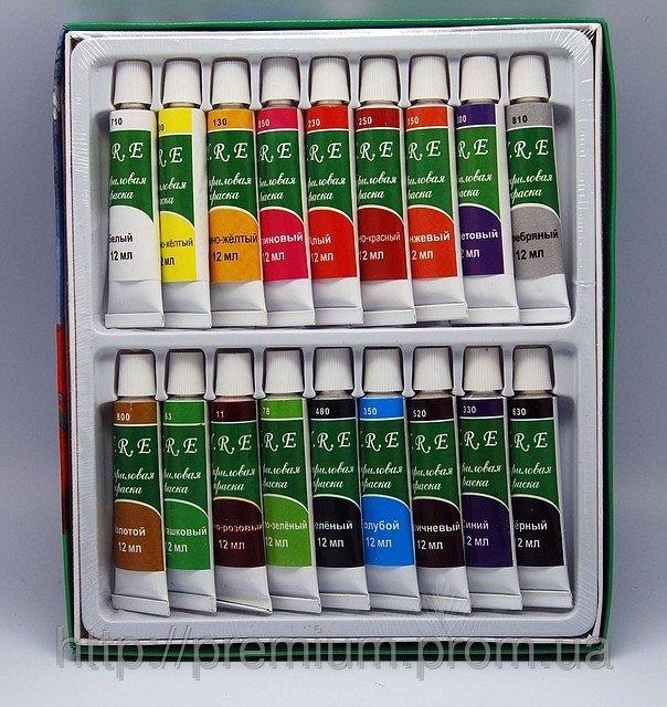 Акриловые краски 18