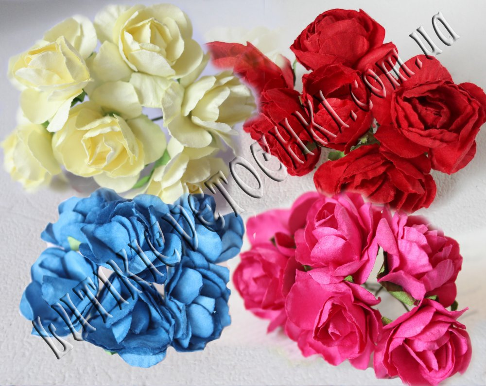 Paper Roses For Scrapbooking Buy In Kharkov