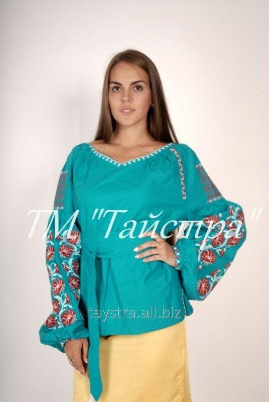 Блуза вышитая в Бохо-стиле