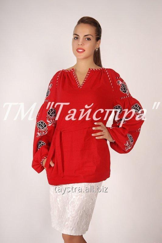Блузка вышитая в Бохо-стиле