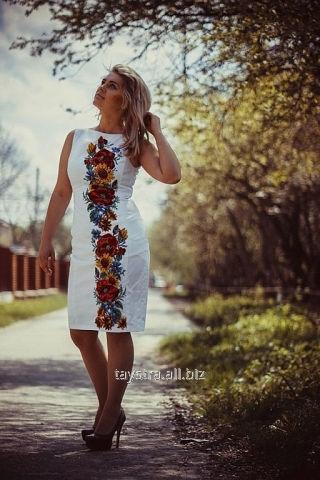 Вишиванка жіноча, плаття (вышитое платье)