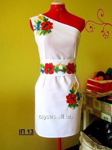 Вишите плаття жіноче з поясом