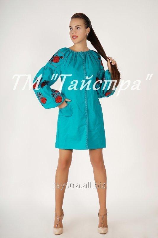 Вышитое платье в Бохо-стиле туника