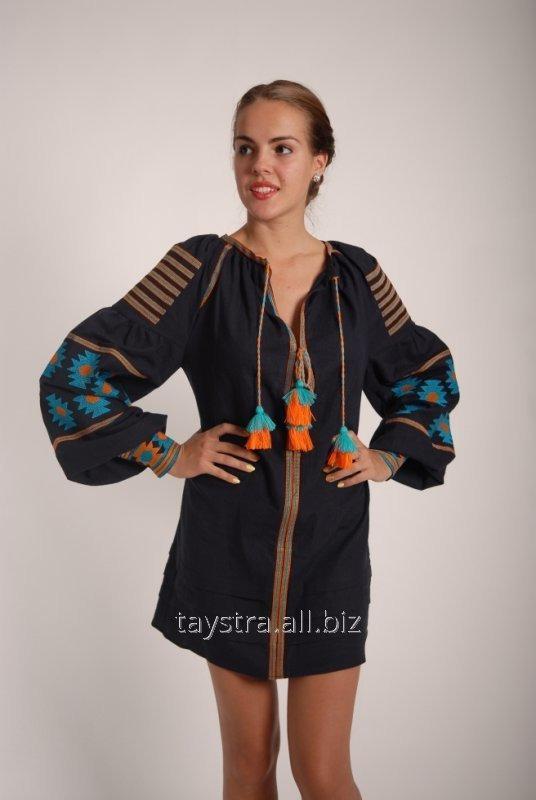 Вышитое платье в Бохо-стиле