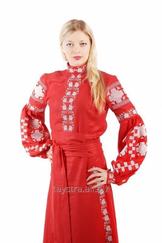 Вышитое платье в Бохо-стиле -вишиванка