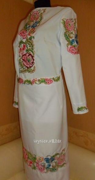 Народний жіночий костюм з юбкою