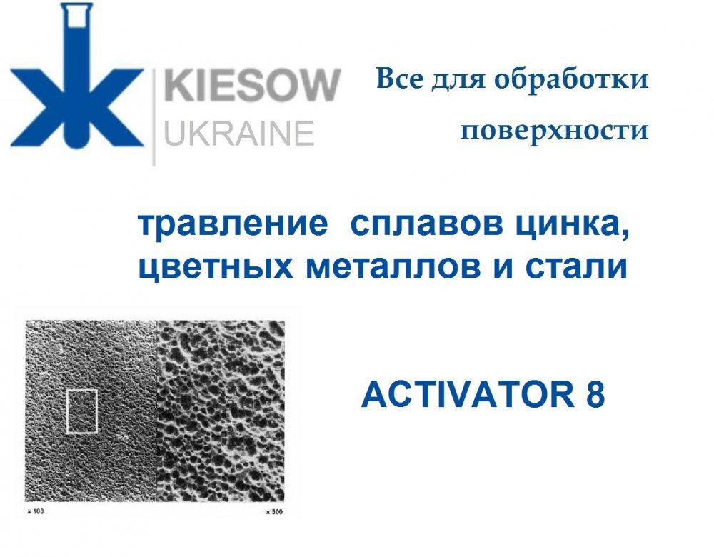 Купить Activator 8 - Активатор для травление сплавов цинка, цветных металлов и стали