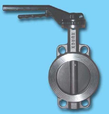 Заслонка поворотная баттерфляй Xurox Dn 150 Type Metal/Metal