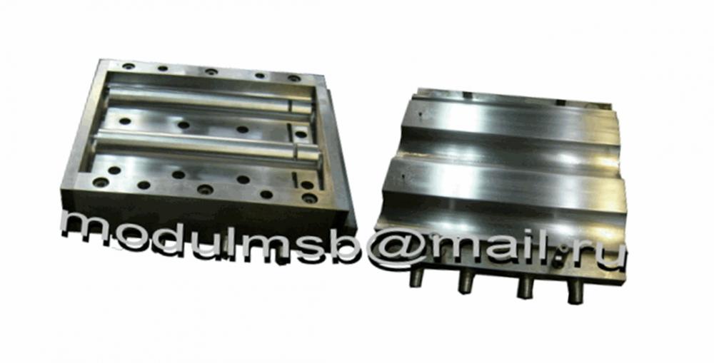Купить Пресс-форма для производства плитки тротуарной Черепица рядовая (405 х 315)