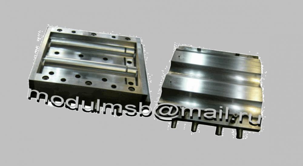 Купити Форма для полимерпесчаной плитки тротуарної Черепиця рядова 405 х 31