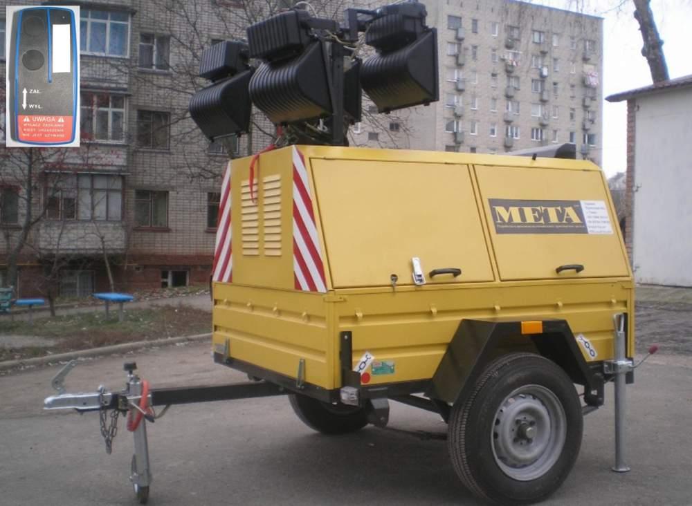 Электростанцияпередвижная прицепная ЭППМ-6.